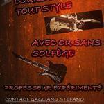 Stefano Gagliano - Cours de guitare