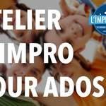 """""""Improvision - Ateliers d'impro pour ados par Iseult Brasse"""