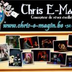 Chris E-Magin    Artiste Magicien Professionnel