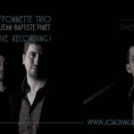Joachim Caffonnette Trio - Concert enregistré en live