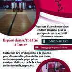 Salles de danse et de répétition à louer