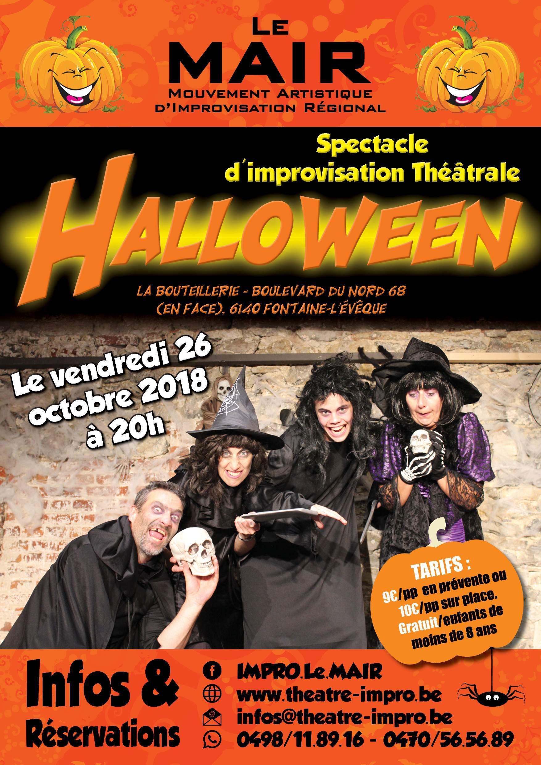 Impro - Spéciale Halloween