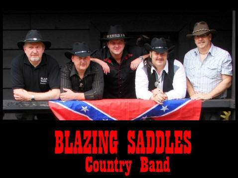 Blazing saddles country band