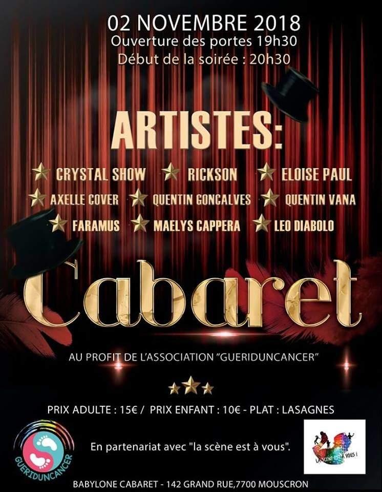 "Spectacle Caritatif ""Folie Cabaresque"""
