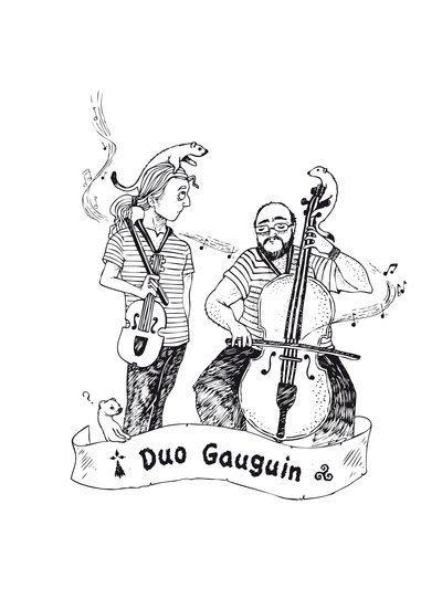 "Duo Gauguin - Duo de musiques trad. ""celtiques"" (irlande, Bretagne, ... )"
