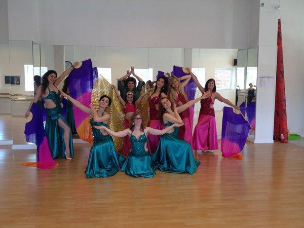 danse orientale tous niveaux