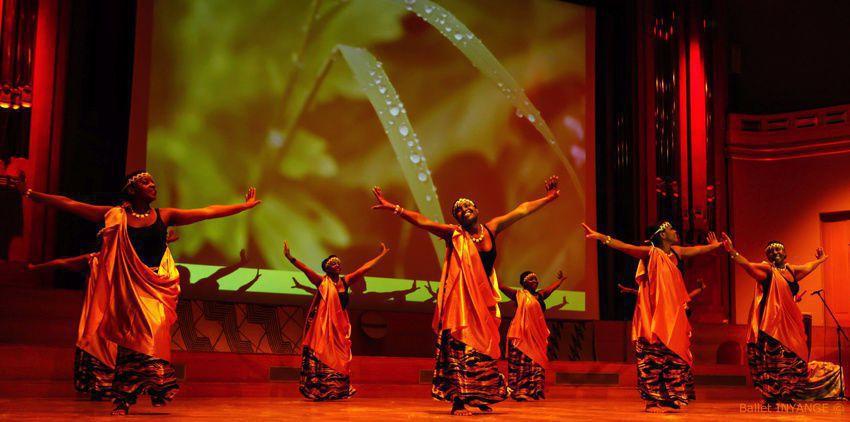Ballet INYANGE, danse, chant et tambours du Rwanda