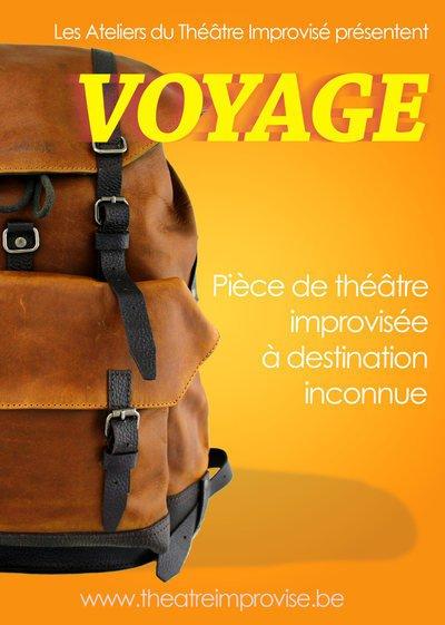 Voyage, spectacle de théâtre improvisé
