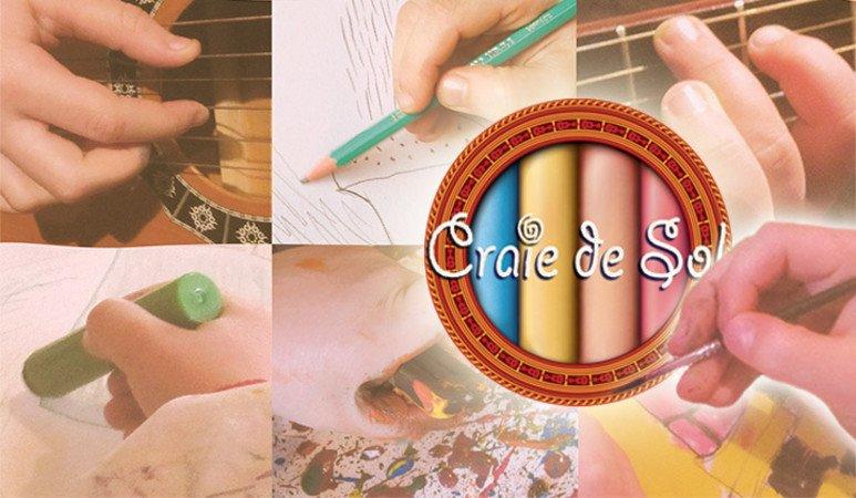 Craie De Sol Dessin Peinture Etou Guitare Folx Les Caves