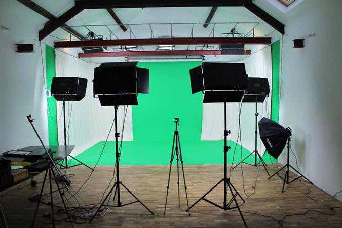 NeoStudio - Studio Chroma key green  clip réalisation  clip