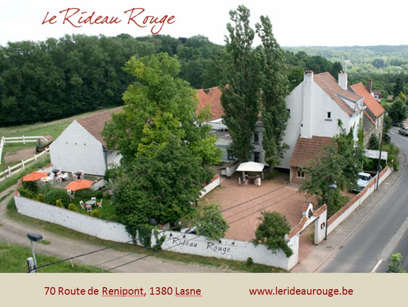 Le Rideau Rouge - Lasne - (1380) - Spectable