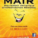 MAIR asbl - Nouveau! Le MAIR (Mouvement Artistique d'Improvisation Régional)