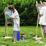 Atelier Les Artlevents - atelier hebdomadaire d'expression créative - peinture - sculpture
