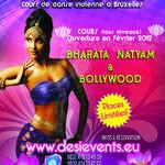 """Cours de danse Bollywood et Bharata """"Dansez l'Inde"""" by www.desievents.eu"""