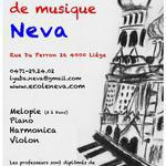 Ecole Russe de Musique Neva - cours de musique