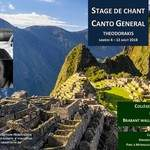 Stage de chant 2018 Canto general