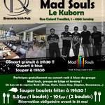 Concert Rock gratuit - Mad Souls - Le Kuborn - Seraing 02 juin 2017